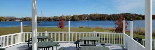 Candlewick Lake Rec Center Party Deck